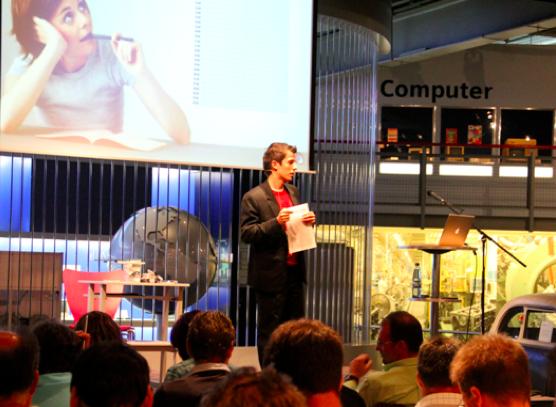 Keynote-Speaker Dr. Martin Krengel im Zeitmanagement-Vortrag