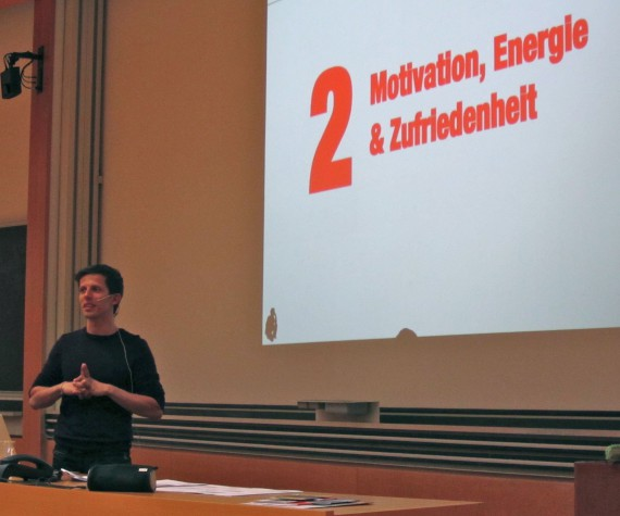 Motivation, Zufriedenheit und Energie - Vortrag von Speaker Martin Krengel
