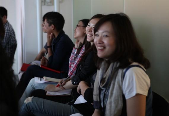 Teilnehmer im Zeitmanagement und Motivation Seminar von Martin Krengel - Inspiration und-Spass
