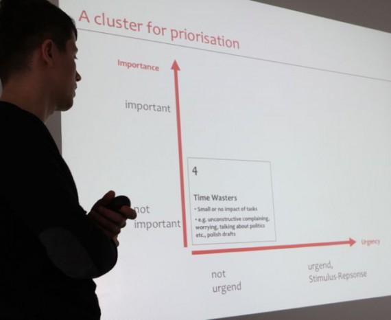 Vortrag - Keynote über Produktivität Konzentration von Zeitmanagement-Experte Dr. Martin Krengel