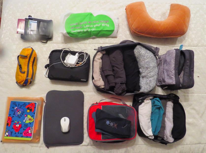 Koffer packen - die wichtigsten Reisemodule und Dinge die man auf eine Reise mitnimmt