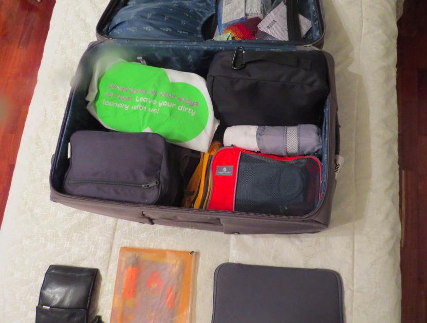Koffer packen - Ordentlich und organisiert