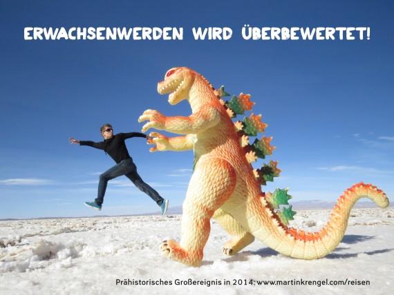 Coole Sprüche und Lebensweiheiten - Witzige Bilder mit Sprüchen aus dem Reisebericht %22Stoppt die Welt, ich will aussteigen%22 von Martin Krengel