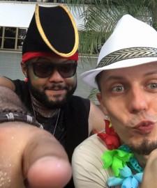Karneval in Rio Tag 5 - noch sind wir frisch und munter