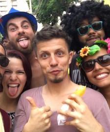 Mein zweiter Karneval in Rio de Janeiro - alles beginnt ganz entspannt
