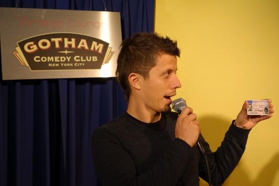 Meine schnelle Kariere als Stand Up Comedian im Gotham Comedy Club in New York City
