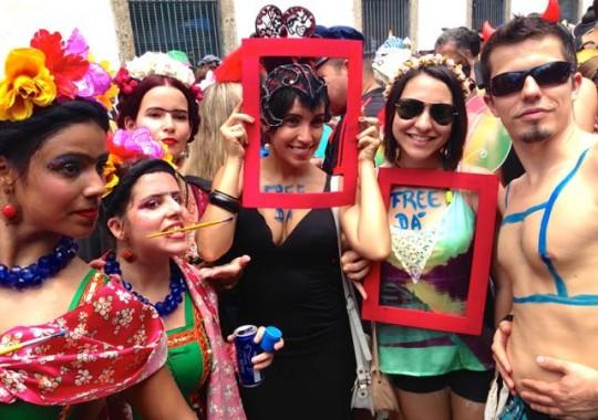 Originelle Kanrevalskostüme in Rio de Janiero Brasilien – Painter – Frida da Carlo