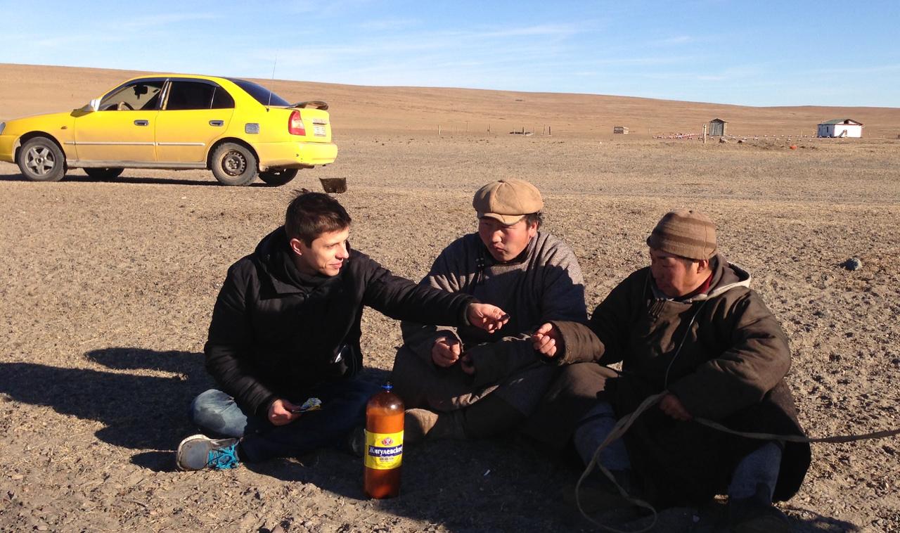 Rast in der Steppe - Abenteuer Mongolei - Asien-Reise Reisebericht von Dr. Martin Krengel