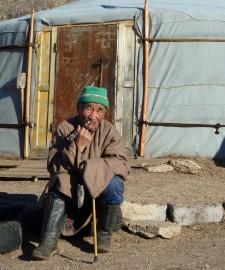Übernachtung in einer Jurte - Abenteuer Mongolei - Asien-Reise Reisebericht von Dr. Martin Krengel