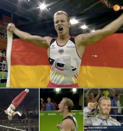 Erfolgsfaktoren beim Sport - Lernen - Arbeiten - im Beruf - Studium - Ziele - Fabian Hambuechen gewinnt Gold bei Olympia in Rio