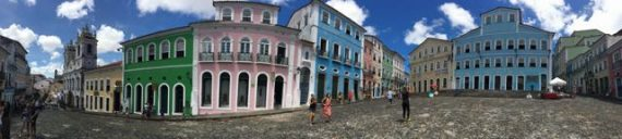 Creative sourrounding in Salvador de Bahia im Norden Brasiliens